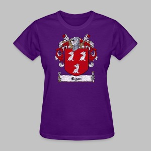 Ryan Family Crest - Women's T-Shirt