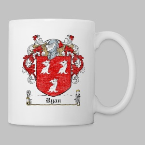 Ryan Family Crest - Coffee/Tea Mug