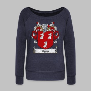 Ryan Family Crest - Women's Wideneck Sweatshirt