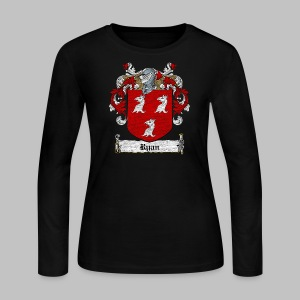 Ryan Family Crest - Women's Long Sleeve Jersey T-Shirt