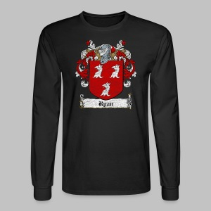 Ryan Family Crest - Men's Long Sleeve T-Shirt