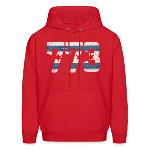773 Chicago Flag - Men's Hoodie