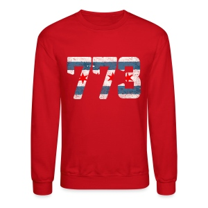 773 Chicago Flag - Crewneck Sweatshirt