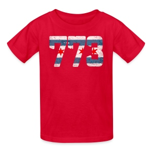 773 Chicago Flag - Kids' T-Shirt