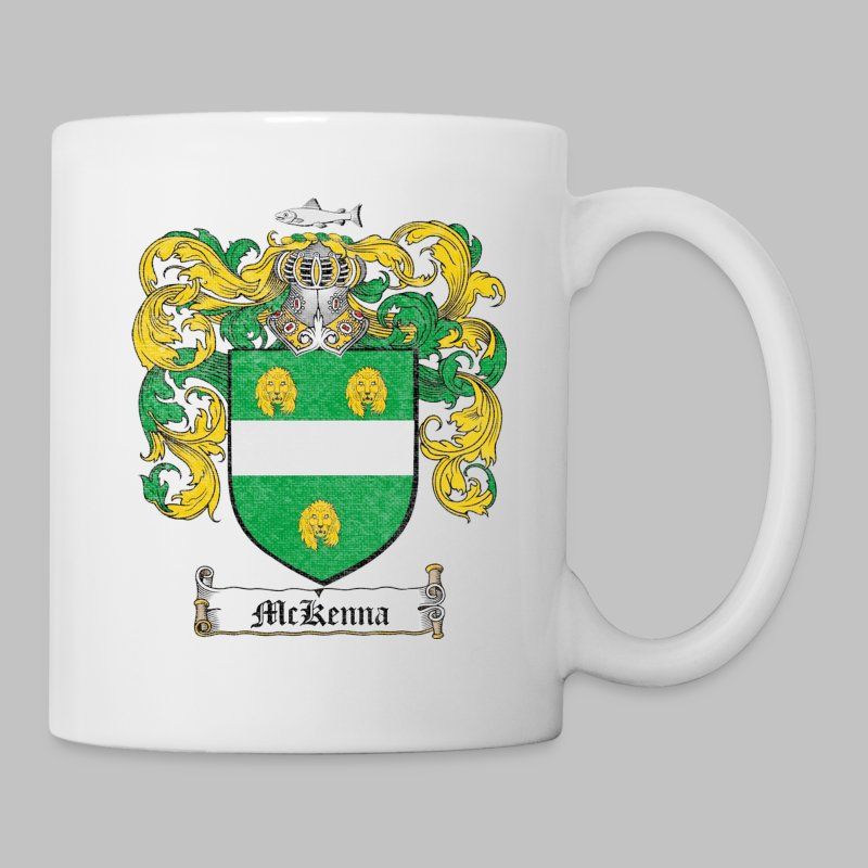 Mckenna Family Shield - Coffee/Tea Mug