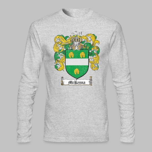 Mckenna Family Shield - Men's Long Sleeve T-Shirt by Next Level