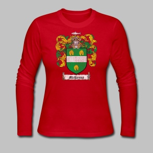 Mckenna Family Shield - Women's Long Sleeve Jersey T-Shirt