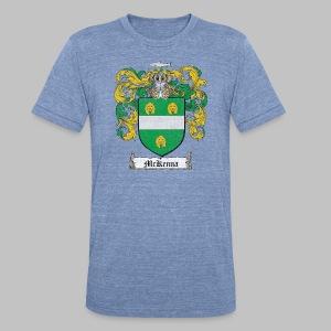 Mckenna Family Shield - Unisex Tri-Blend T-Shirt