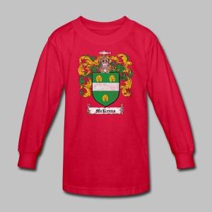 Mckenna Family Shield - Kids' Long Sleeve T-Shirt