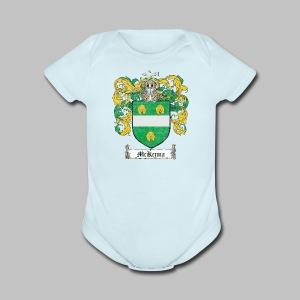 Mckenna Family Shield - Short Sleeve Baby Bodysuit