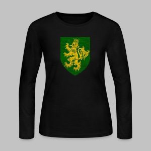Oconnor Family Shield - Women's Long Sleeve Jersey T-Shirt