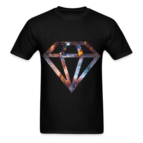 DIAMOND in the RUFF - Men's T-Shirt