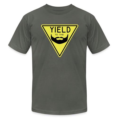 Yield to the Beard - Men's  Jersey T-Shirt