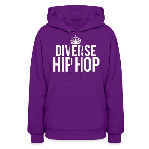 DHH Crown (Womens / White) - Women's Hoodie