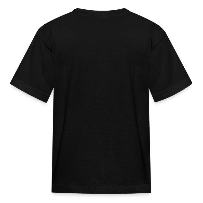 Kids' T-Shirt, White Logo