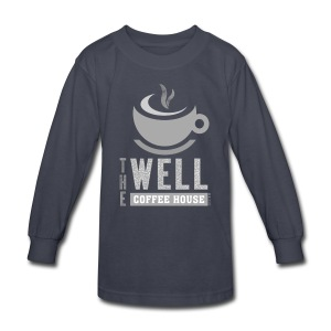 Kids' Long Sleeve T-Shirt, Grey Logo - Kids' Long Sleeve T-Shirt