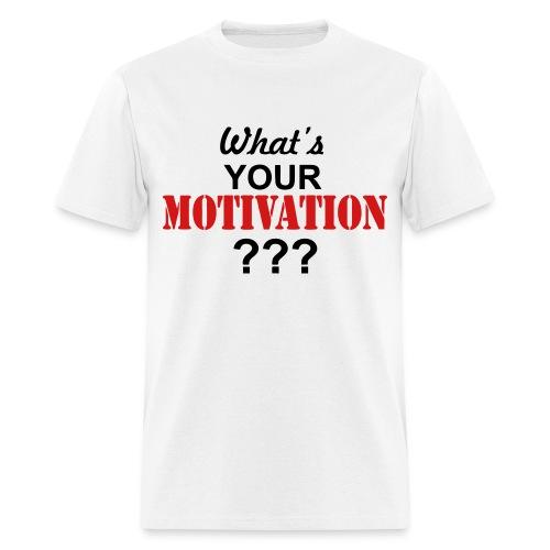 Motivation Tee - Men's T-Shirt