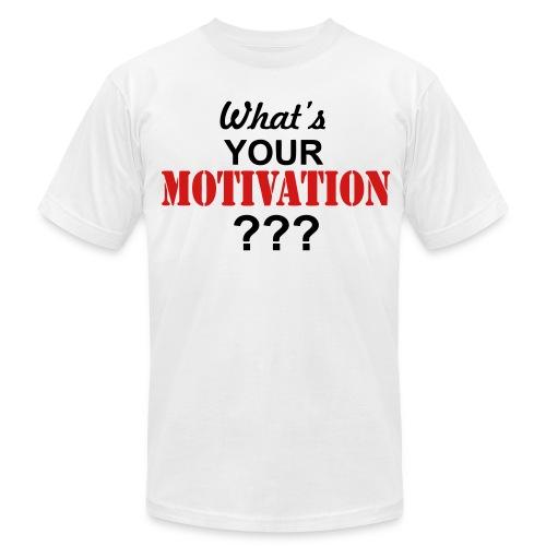 Motivation Tee - Men's Fine Jersey T-Shirt
