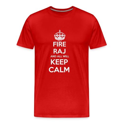 Fire RAJ All Calm (M) - Men's Premium T-Shirt