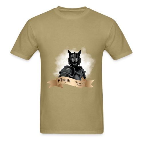 Skyrim Khajiit - Men's T-Shirt