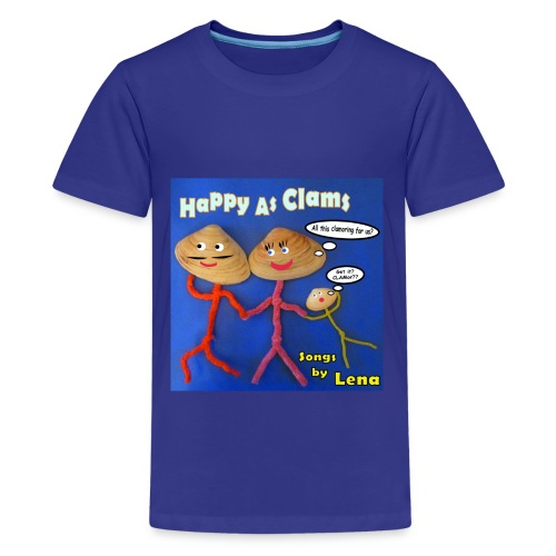 Happy as a Clam Kids T-Shirt - Kids' Premium T-Shirt