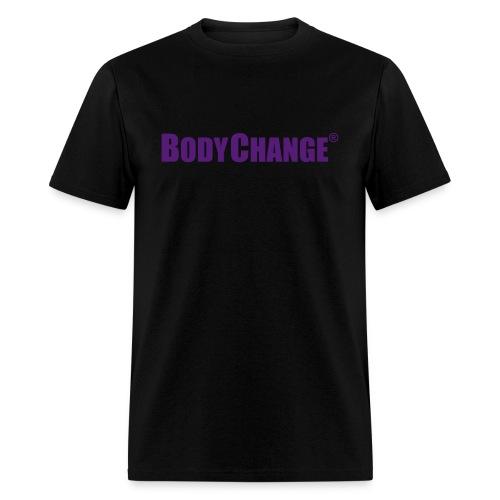 Men's BODYCHANGE Standard Black Shirt - Men's T-Shirt
