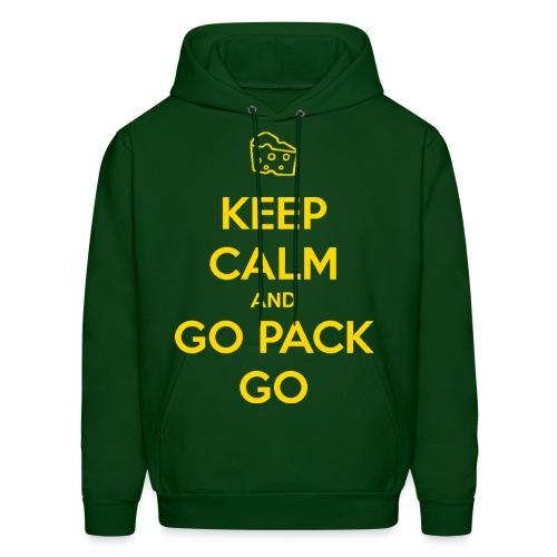 Keep Calm and GO Pack GO Hoodie - Men's Hoodie