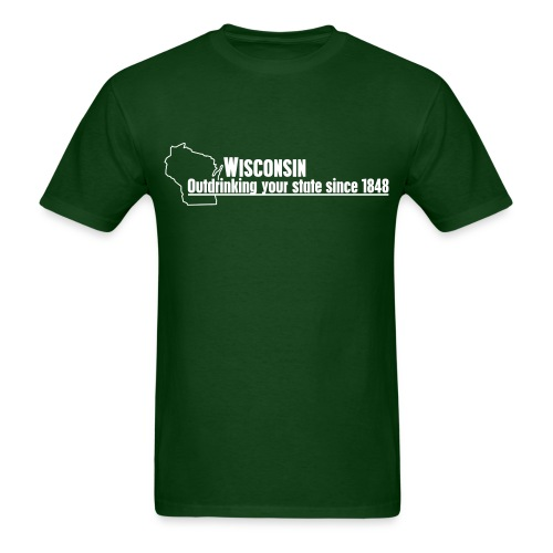 Outdrinking Your State T-Shirt - Men's T-Shirt