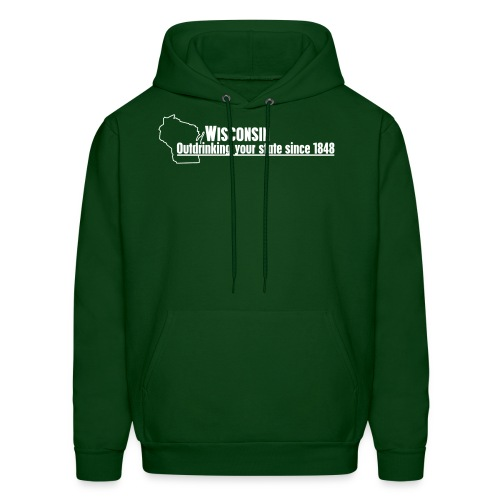 Outdrinking Your State Hoodie - Men's Hoodie