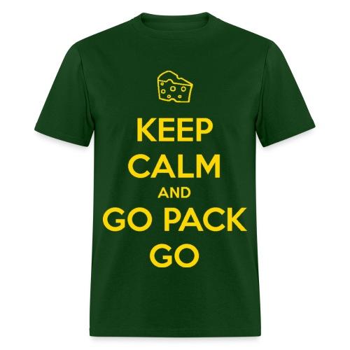 Keep Calm and GO Pack GO T-Shirt - Men's T-Shirt