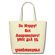 Bags & backpacks ~ Eco-Friendly Cotton Tote ~ Acupuncture in the Bag