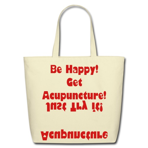 Acupuncture in the Bag - Eco-Friendly Cotton Tote
