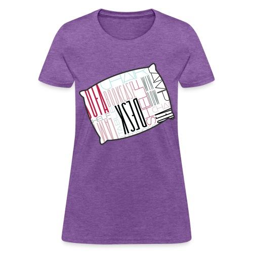 Sleep Talking Word Room  - Women's T-Shirt