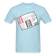 T-Shirts ~ Men's T-Shirt ~ Sleep Talking Word Room