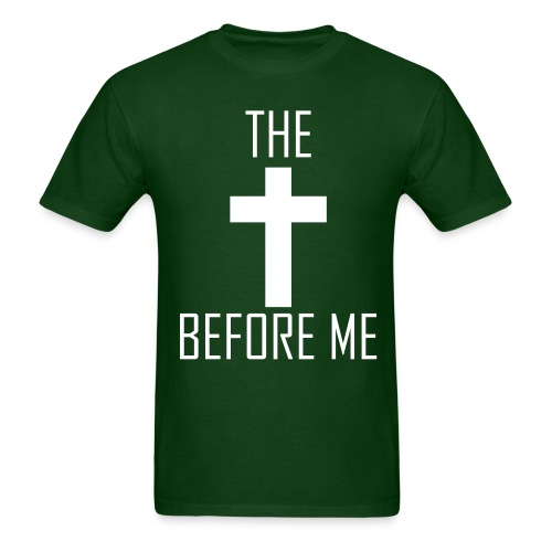 The Cross Before Me  - Men's T-Shirt
