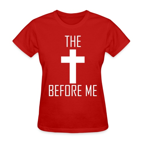 The Cross Before Me (Women's) - Women's T-Shirt