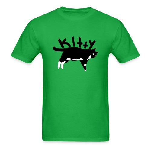 Kitty Kat - Mens - Men's T-Shirt