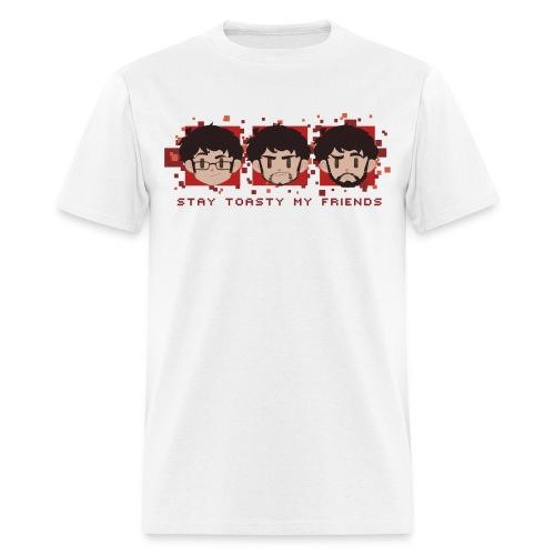 Three Faces - Mens - Men's T-Shirt