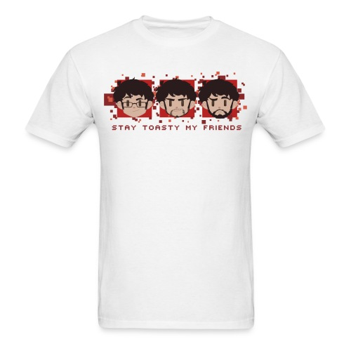 Three Faces - Mens - Men's T-Shirt