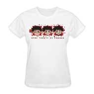 Women's T-Shirts ~ Women's T-Shirt ~ Three Faces - Womens