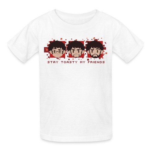 Three Faces - Kids - Kids' T-Shirt