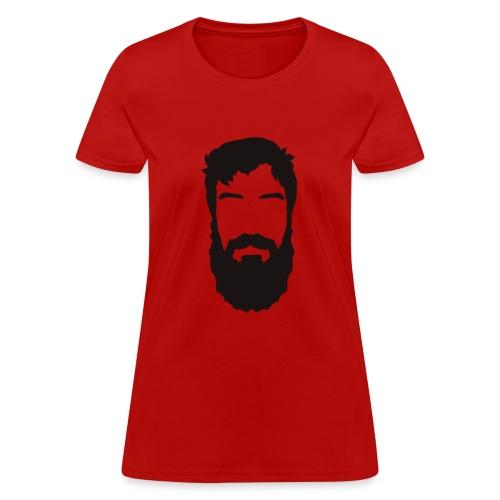 Bearded Ken - Womens - Women's T-Shirt