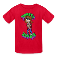 Kids' Shirts ~ Kids' T-Shirt ~ Toasty Zombie - Kids