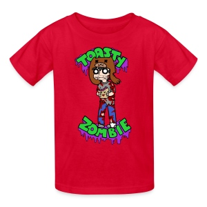 Toasty Zombie - Kids - Kids' T-Shirt