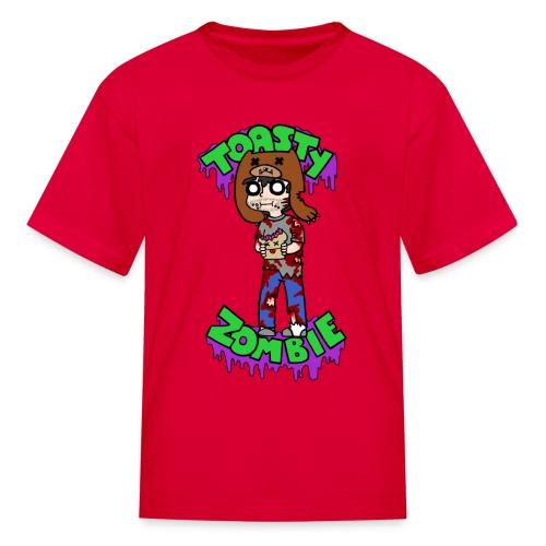 Toasty Zombie - Kids - Kids' T-Shirt