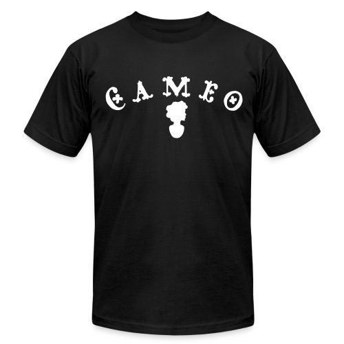 Cameo Records black tee - Men's Fine Jersey T-Shirt