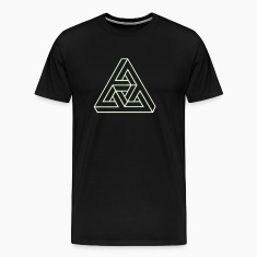 Triangle geometry endless knot infinity mathematic T-Shirts