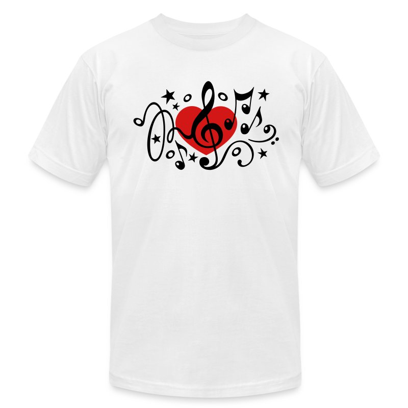 Music heart note i love classic choir star clef t shirt Music shirt design ideas