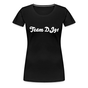 Team DJ91 Woman's T-Shirt  - Women's Premium T-Shirt