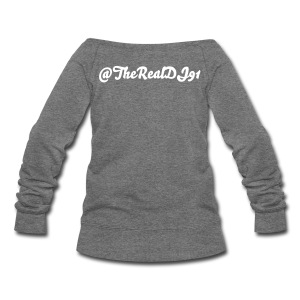 Team DJ91 Woman Wide neck Sweatshirt  - Women's Wideneck Sweatshirt